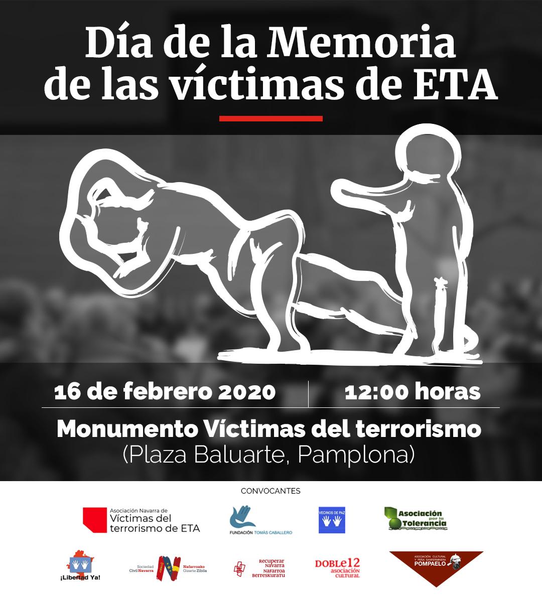 La Tole en Pamplona con las víctimas de ETA