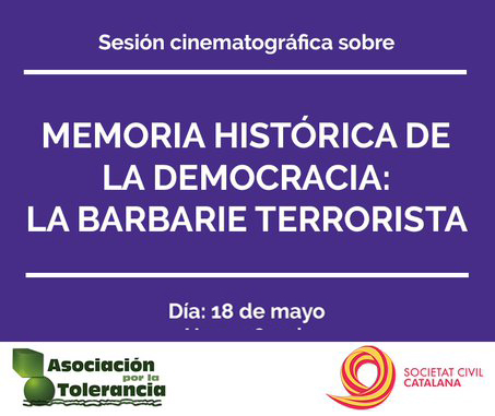 El próximo 18 de mayo se presenta la agrupación de Terrassa de Societat Civil Catalana