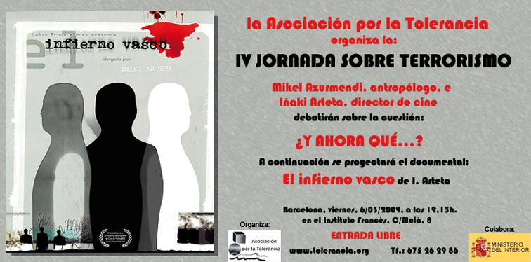IV Jornada sobre Terrorismo