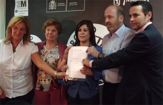 Foto de los representantes de las asociaciones